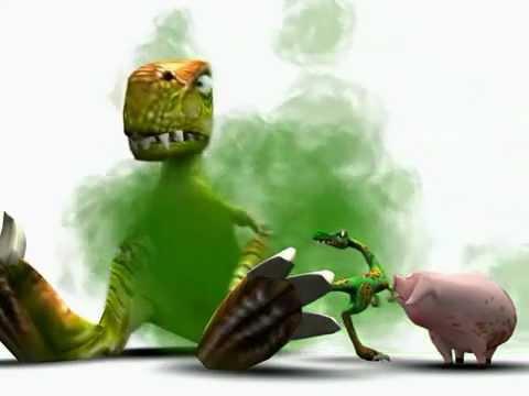 Video Divertente (Dinosauri & maiale)