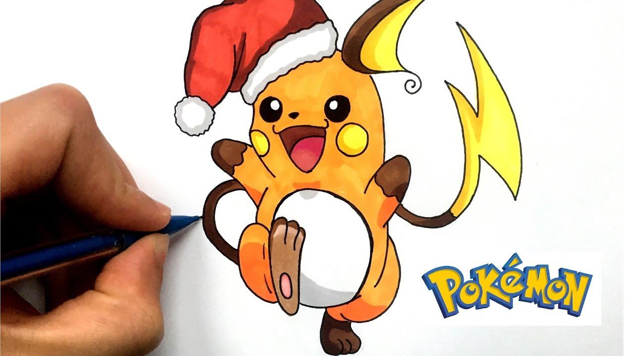 How To Draw Raichu For Christmas Pokémon Go