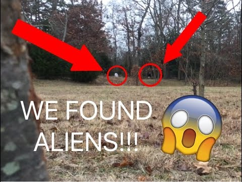 WE FOUND ALIENS IN MY BACKYARD AGAIN!!! ALIEN FOOTAGE ...
