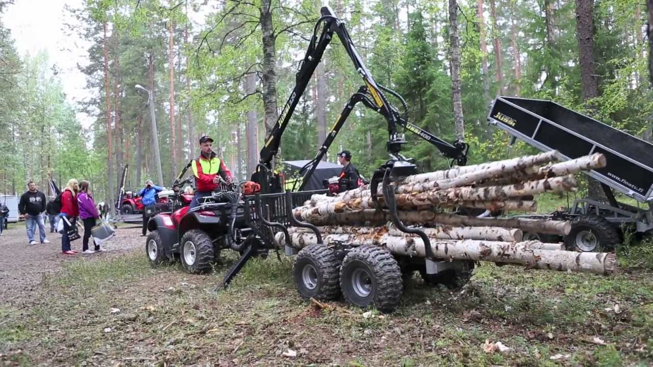 Finnmetko 2012 And Vahva Jussi Atv Equipment Youtube