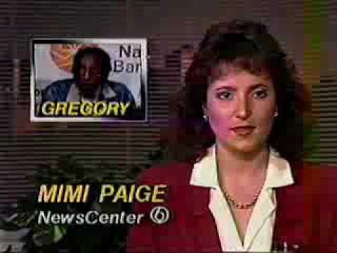 1989 newscast segments, Shreveport, LA: Dick Gregory anti-drug campaign; China