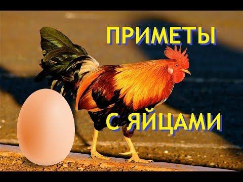 Приметы связанные с яйцами