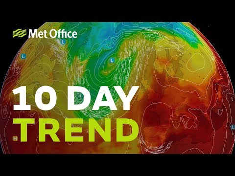 10 Day Trend – Summer's Last Hurrah? 21/08/2019