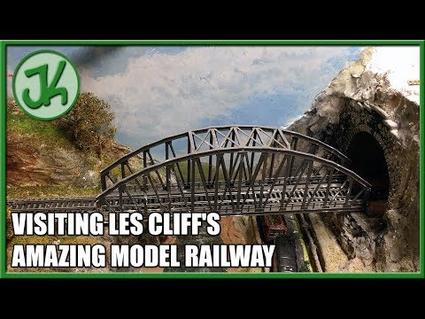Visiting Les Cliff's Amazing Model Railway