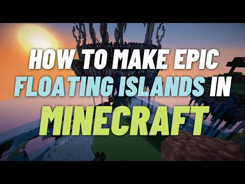 Tutorial - How To Make Natural Floating Islands in Minecraft (WorldEdit) & Some News