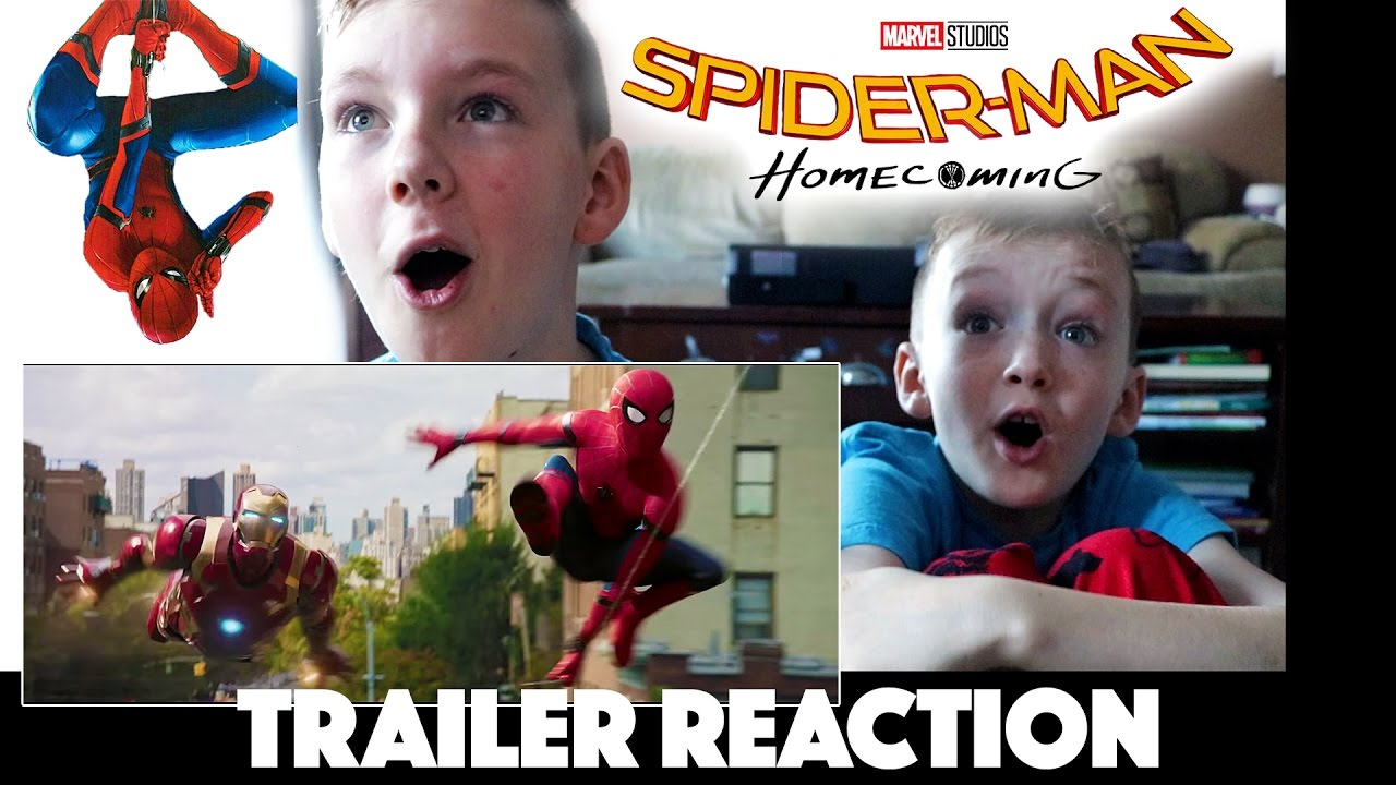 Spider Man Homecoming Trailer Reaction And Review Kids