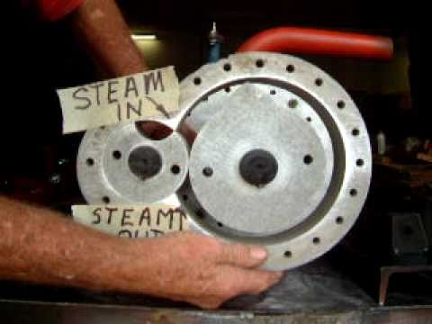 rotary piston steam air engine 2 youtube