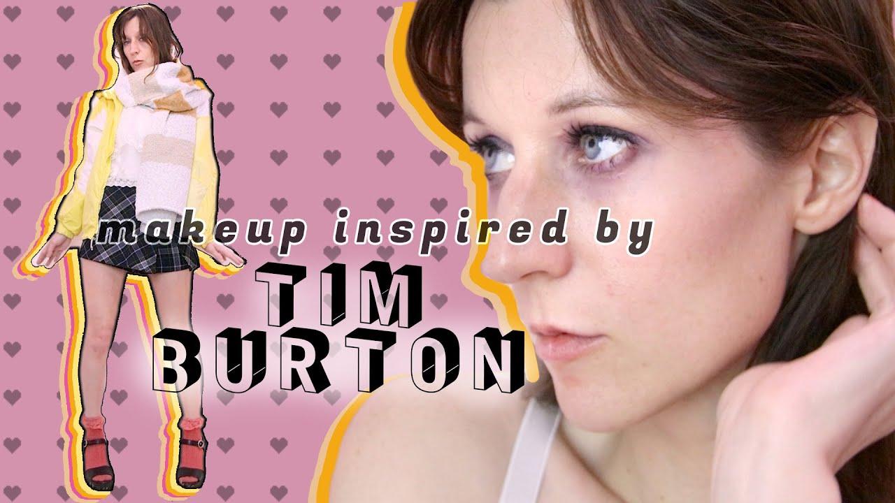 Tim Burton Makeup