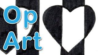 Art Exploration - Victor Vasarely - Negative Positive OP Art
