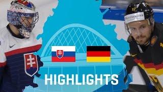Slovakia - Germany | Highlights | #IIHFWorlds 2017