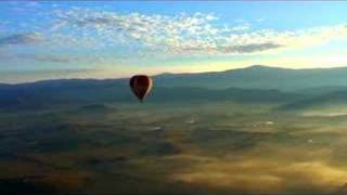 Hot Air Ballooning over the Yarra Valley near Melbourne