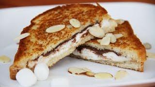 Горячий сэндвич с зефиром и шоколадом (MARSHMALLOW SANDWICH)