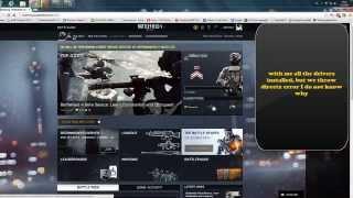 Battlefield 4 DirectX error fix