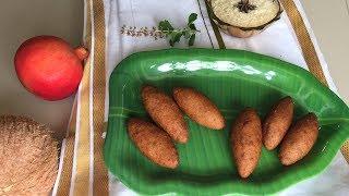 Stuffed Banana Fritters | Unnakaya | Fried Banana