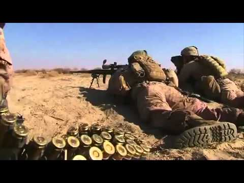 Marine sniper takes out a Taliban spotter