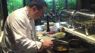 cooking French &quotPan Seared Goose Liver with Caramelized Apples Recipe