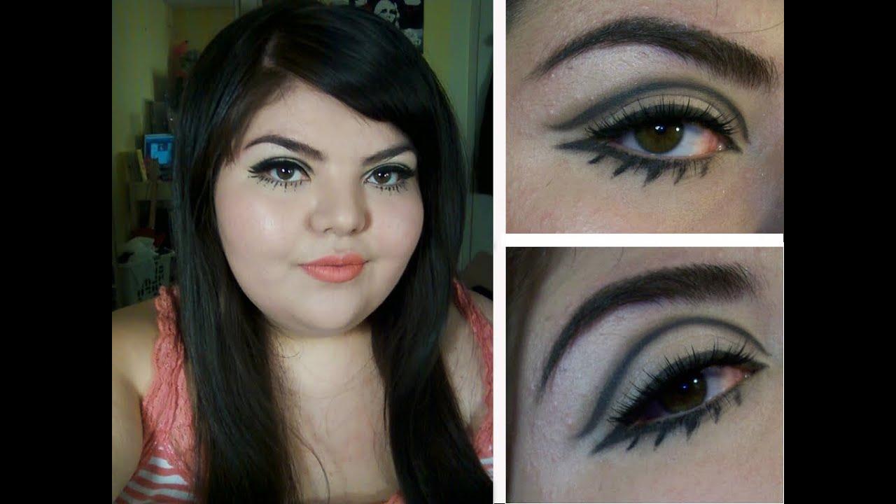 Playing Dress Up 1960s Mod Makeup Youtube