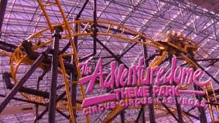 Adventuredome Theme Park at Circus Circus Hotel Tour & Review with The Legend