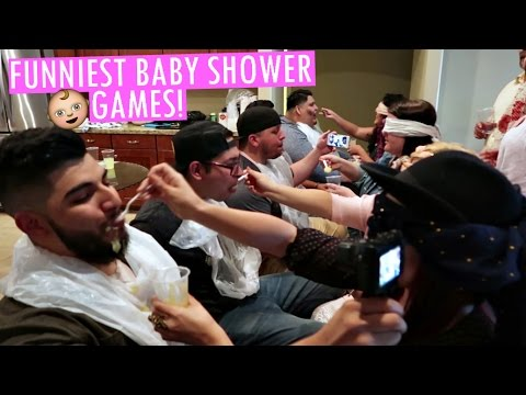 Funniest Baby Shower Games Youtube