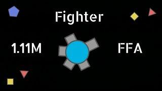 Diep.io - A Graceful Voyage   Fighter 1.11M (FFA)