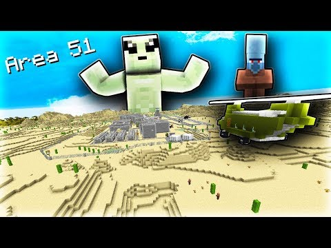 I made my Server Storm into Area 51 in Minecraft