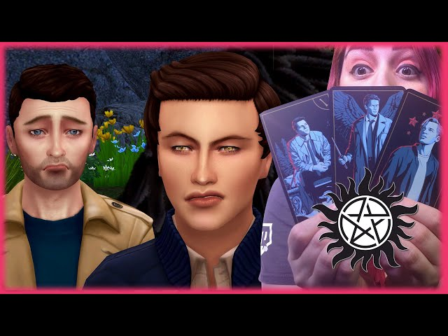 🌟Creating Castiel & Jack from Supernatural and Learning Their Tarot Cards🃏