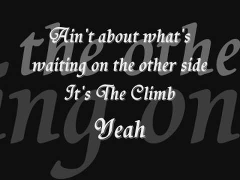 Joe McElderry -THE CLIMB with LYRICS ON SCREEN