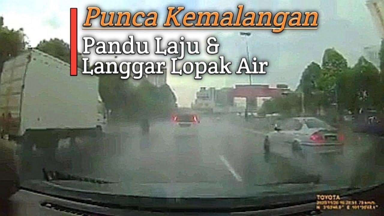 Download Pandu Laju & Langgar Lopak Air Punca Kemalangan di KESAS Highway 20/11/2020 | #shortvideo