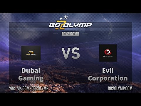 Dota 2: G2O $500 Tournament, 1/2 финала, Evil Corporation VS Dubai Gaming