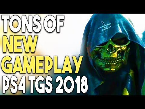 TONS of NEW Gameplay of Upcoming PS4 Games at TGS 2018! GREAT PS4 Game Deal!