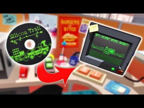 Office Worker Finds SECRET GAME on a HIDDEN WEBSITE! - Job Simulator Gameplay