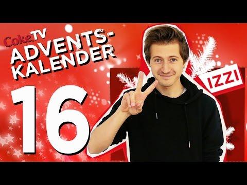 CokeTV Adventskalender: Türchen 16 mit izzi | #CokeTVMoment