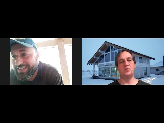 Обсуждение фахверкового дома с Евгением из Краснодара, качество бруса,  окна и  ПИР