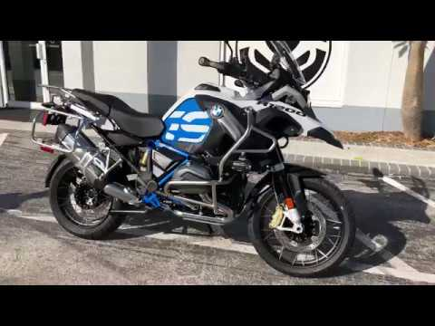 2018 bmw r 1200 gs adventure rallye light white cordoba blue at euro cycles of tampa bay youtube. Black Bedroom Furniture Sets. Home Design Ideas