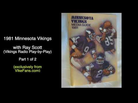 1981 Minnesota Vikings - Radio Recap (part1)