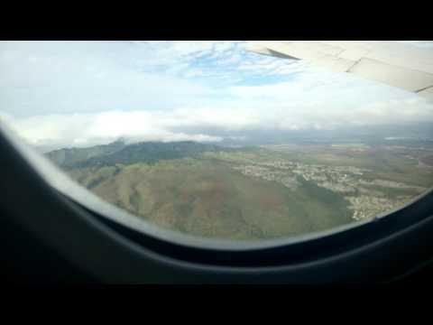 Landing Honolulu International Airport