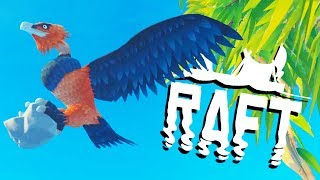 screecher-bird-attack-on-the-giant-island-raft-gameplay