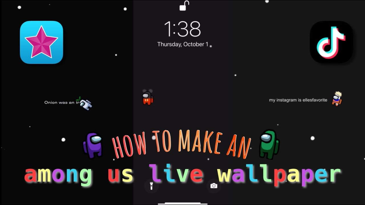 How To Make An Among Us Moving Wallpaper image number 10