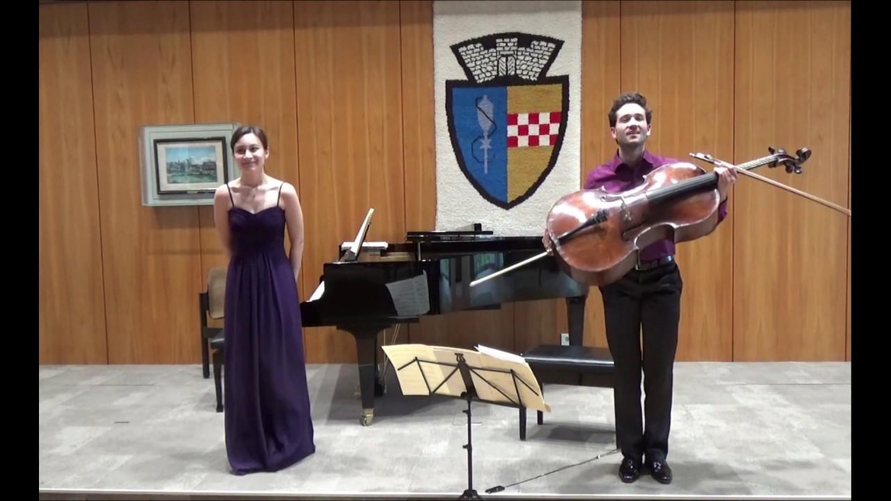 C.Debussy: Cello Sonata | Roger Morelló & Alica Müller (live)