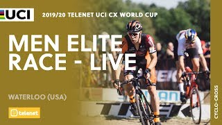 Live–Men Elite 2019/20 Telenet UCI Cyclo-cross World Cup, Waterloo