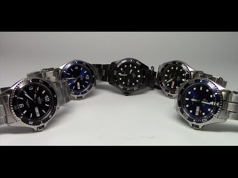 Overview of the Orient Mako and Ray II Wristwatches  The Affordable Diver