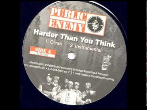 Public Enemy  Harder Than You Think Instrumental High Quality
