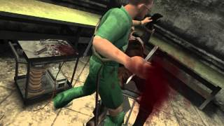 Manhunt 2 brutal kill (complete) ps2 edition uncensored Warning:( Very Graphic deaths)