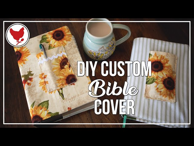 HOW TO SEW A CUSTOM BIBLE COVER | Cosmopolitan Cornbread