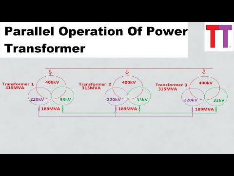 Parallel Operation Of Power Transformers Practical Approach