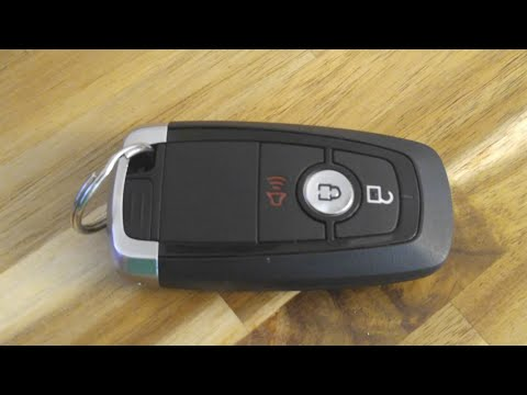 2018-2019 Ford Key Fob Battery Replacement - DIY