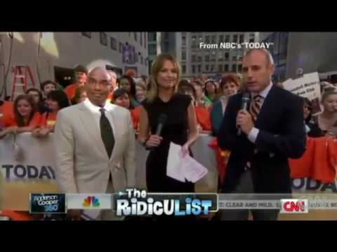 Al Roker Mk-Ultra GLITCH Live On Today SHOW! 1080p HD