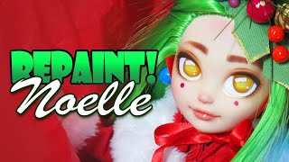 Repaint! Christmas Tree OOAK Art Doll Noelle