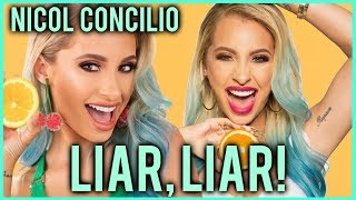 NICOL CONCILIO LIES TO HER SUBSCRIBERS?