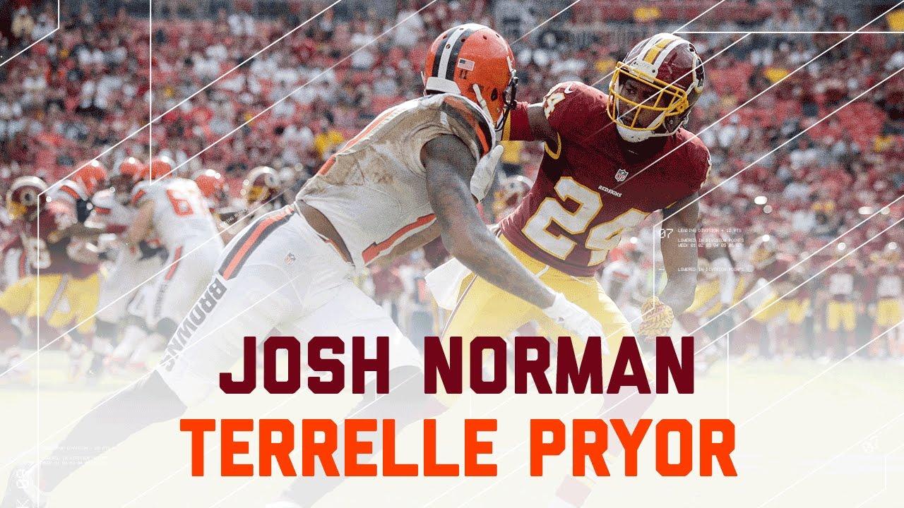 70af0d73b7d Josh Norman vs. Terrelle Pryor